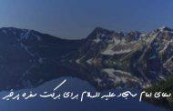 دعای امام سجاد علیه السلام برای برکت سفره پرخیر